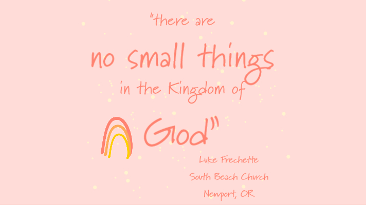 No Small Things
